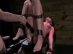 Wild hooker gets pussy fingered and dildoed