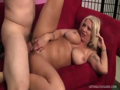 Ultimate Cougar Queen Isabella Rossa Gets Fucked!