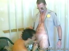 Cops gay sex fun between shifts
