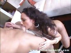 Hot momma Isabella Manelli taking monster cock deep up