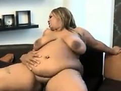 Black Chick With A Flappy Belly