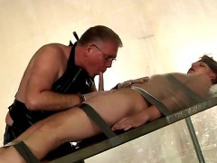 Twinks XXX Taped Down Twink Drained Of Cum