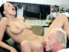 Sexy Tracy Gets Down And Dirty With Her Mechanic