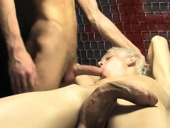 Gay cock In a bizarre desire Ashton Cody is strapped up and