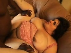 Big White Woman Fucked By A Black Guy